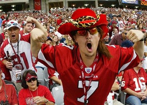 Cardinals Fever Football