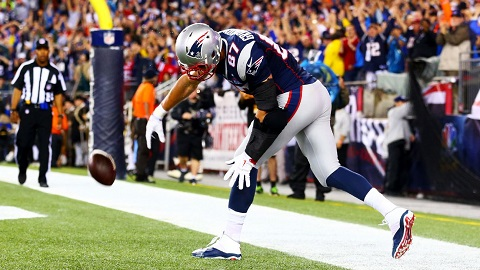 Don't cover Gronk. What's the worst he can do? - Keith Butler.