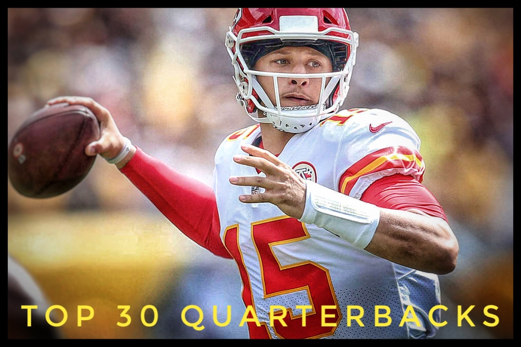 Top 30 Quarterbacks Header